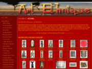screenshot http://www.artethnique.com art ethnique
