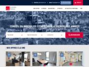 Agence d'immobilier d'entreprise