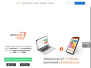screenshot http://www.artinove.fr Artinove