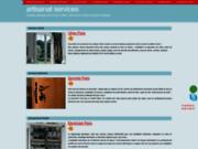 screenshot http://www.artisanat-services.com Installation et dépannage.