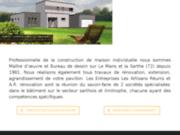 Construction, rénovation de maison au Mans