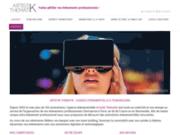 screenshot http://www.artistikthematik.com team building