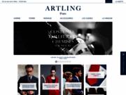 screenshot http://www.artling.fr tailleur sur mesure Paris