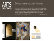 screenshot http://www.arts-sacres.fr/ art sacré