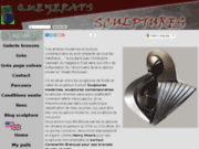 screenshot http://www.arts-sculptures.com arts-sculptures:galerie virtuelle de sculptures