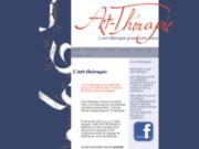 screenshot http://www.arttherapie.be art-therapie pour le mieux-être