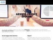 screenshot https://www.arvato.fr/ marketing client