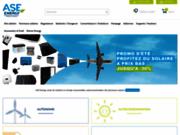 screenshot http://www.ase-energy.com les énergies renouvelables au meilleur prix