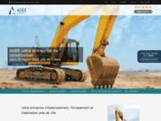 screenshot http://www.asee.fr/ entreprise assainissement nord pas de calais