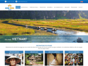 screenshot http://www.asiakingtravel.fr asia king travel : voyage au vietnam