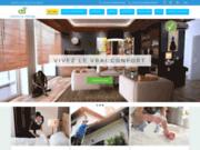 screenshot https://asmenage.ca Services d'entretien ménager et de femme de ménage à Montréal et Laval