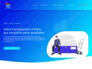screenshot https://www.asntransport-paris.com transport express