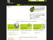 screenshot http://www.aspresso.fr aspresso - solution web 2.0 collaborative hebergee vitrine, catalogue, intranet, extranet...