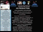 screenshot http://www.asproduction.fr/ http://www.asproduction.fr/
