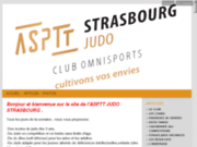 screenshot http://www.aspttjudostrasbourg.com asptt judo strasbourg