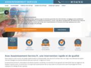 screenshot http://www.assainissement-service.fr Service d'assainissement des fosses septiques