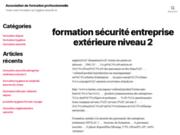 screenshot http://www.association-axe-pro-formation.fr/ Formation pour l'évaluation en EHPAD