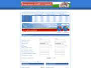 screenshot http://www.assurance-credit-en-ligne.fr assurance credit