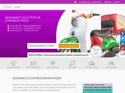 Devis online assurance scooter livraison pizza