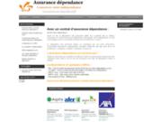 screenshot http://assurances-dependances.fr/ Assurance dépendance