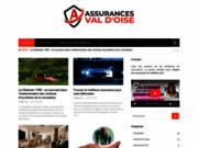 screenshot http://www.assurances-valdoise.com assurance protection sociale efficace val d'oise pontoise 95