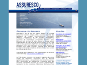 screenshot http://www.assuresco.fr assuresco, courtier en assurances