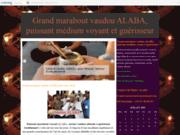 screenshot http://www.astro-esoterisme-medium-voyance.com/ Grand marabout vaudou ALABA, puissant médium voyant et guérisseur