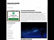 Astronomie planète