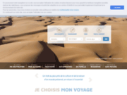 screenshot http://www.atalante.fr agence trek et voyages aventure