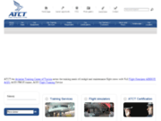 screenshot http://www.atct.com.tn atct, aviation training center of tunisia