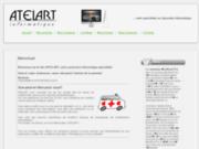 screenshot http://www.atelart.ch atelart: votre partenaire informatique mac