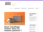 screenshot http://atelier-bois-concept.com chalet tarentaise