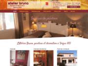Peinture : Atelier Bruno à Fréjus 83