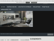 screenshot http://www.atelier-creation.fr/ atelier création - esprit d'espace