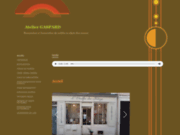 screenshot http://www.atelier-gaspard.com ATELIER GASPARD