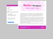 screenshot http://www.atelier-myriagone.fr atelier de sérigraphie