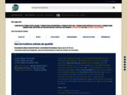 screenshot http://www.atelier601.com vos outils de communication: brochure, flyer, plaq