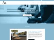 screenshot http://www.atelierdeyoga.com atelier de yoga