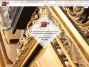 screenshot http://www.atelierdiris.com L'atelier d'Iris, magasin d'encadrements,dorure et restauration