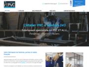 screenshot https://www.atelierpvc.com/ menuiserie Alu et PVC à Contres 41700