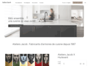 Armoires de cuisine - Ateliers Jacob Cuisine & Espace