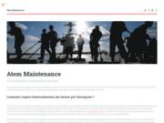 screenshot http://www.atem-maintenance.com maintenance industrielle marseille - expertise électromécanique