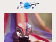 screenshot http://www.athenamedium.com Athéna médium, voyante pure et guérisseuse