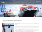 screenshot http://www.ati-export.fr/centrale_achat_export_p.php ATI Export