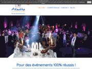 screenshot http://www.atlantika-evenements.com/ atlantika Événements