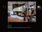 screenshot http://www.atrier.ch thomas kohlbrenner, design et creation de chemines ouvertes ou fermes sur mesure