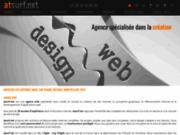 screenshot http://www.atsurf.net atsurf.net - création sie internet - agde