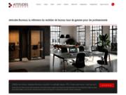 screenshot http://www.attitudes-bureaux.fr/ mobilier de bureau et de direction