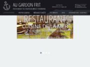 screenshot http://www.au-gardon-frit-37.com restaurant en Indre et Loire 37