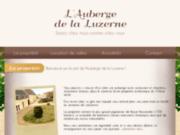 Auberge de la Luzerne - gîte, hôtel et restaurant à Bernières-sur-Mer (14)